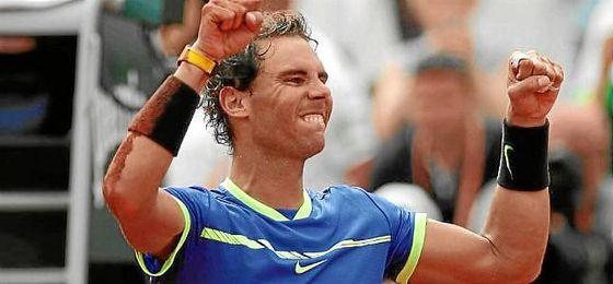 Rafa Nadal sube hasta el número 2 de la ATP.
