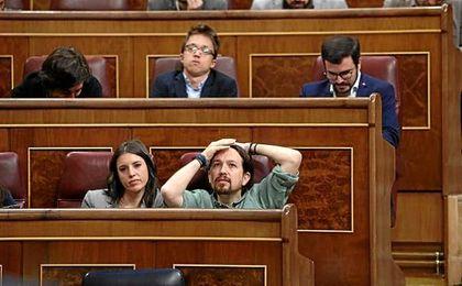 La moción de censura de Pablo Iglesias ha sido tumbada.