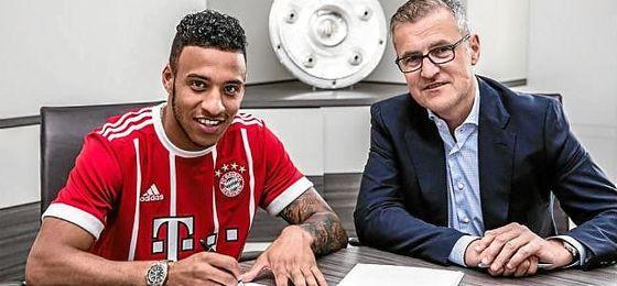 Tolisso, nuevo jugador del Bayern Munich.