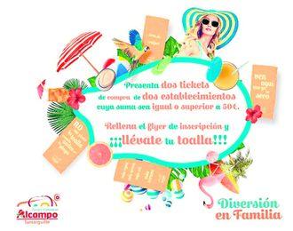 Alcampo Tamarguillo premia a sus consumidores.