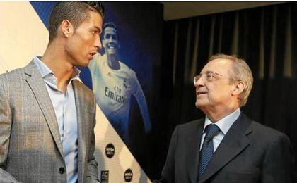 Florentino dice que no hablará con Cristiano hasta que no acabe la Copa Confederaciones.