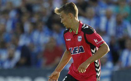 Llorente ha cuajado una gran temporada en el Alavés.