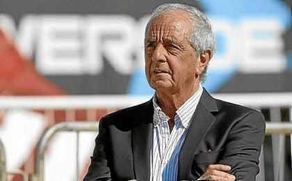 Rodolfo D´Onofrio, presidente de River Plate.