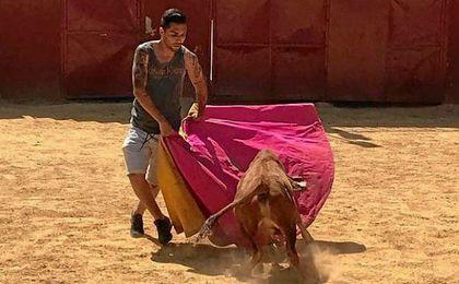La torera despedida de Petros