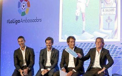 Salgado espero que el luso no deje el Madrid.