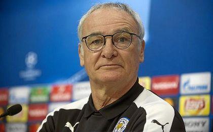 Ranieri, en Nervión. poco antes de ser destituido.