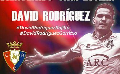 David Rodriguez, nuevo jugador rojillo.