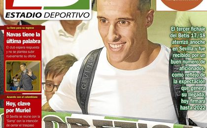La portada del lunes de ESTADIO Deportivo