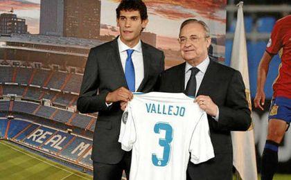 """Jesús Vallejo: """"Voy a darlo todo por el Madrid"""""""