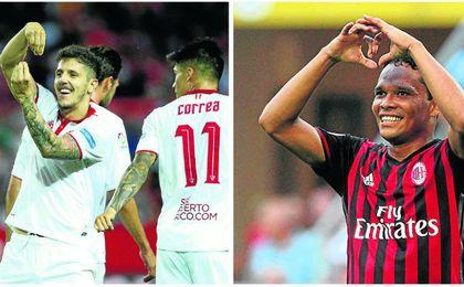 Stevan Jovetic podría volver al Sevilla, un deseo complicado para Bacca.