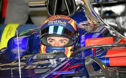 Carlos Sainz, durante los entrenamientos del GP de Austria
