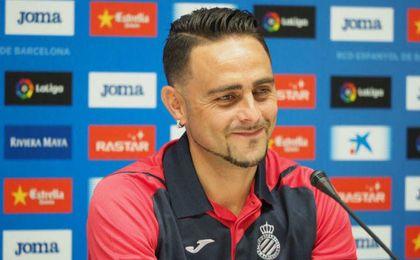 Sergio García se muestra feliz por volver al Espanyol.