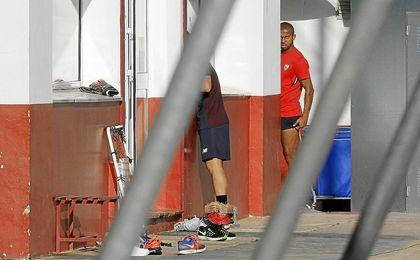 Mariano, que ha estado entrenándose esta mañana, ya tiene nuevo destino: Turquía.