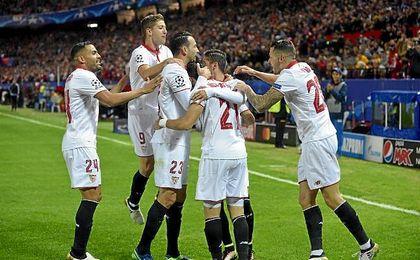 El Sevilla volverá a disputar la Champions League la próxima temporada.