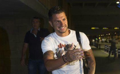 Vitolo realizó un viaje de ida y vuelta que tendrá como destino el Atlético.