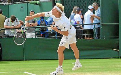 Davidovich primer ganador español en Wimbledon Júnior en 50 años