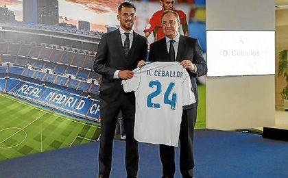 ¿Cuánto mide Dani Ceballos? - Altura - Real height Ceballos-florentino-perez-madrid