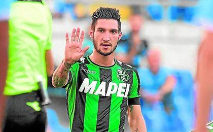 Matteo Politano, delantero del Sassuolo.