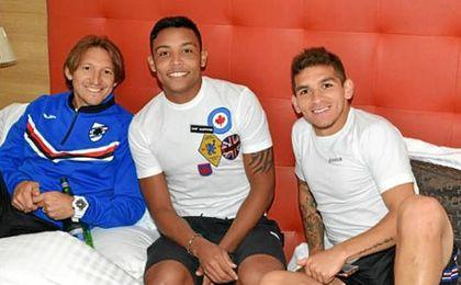 Luis Muriel, de vuelta en la Sampdoria