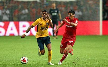 Augusto disputó sus primeros minutos tras superar una grave lesión