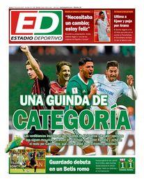 La portada del jueves de ESTADIO Deportivo