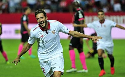 El curso pasado, el Sevilla FC, entonces entrenado por Sampaoli, también se estrenó ante el Espanyol.