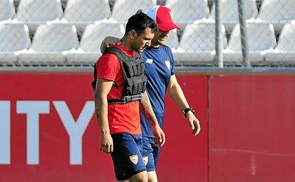 Luzzi cree que el Sevilla no quiere cederlo.