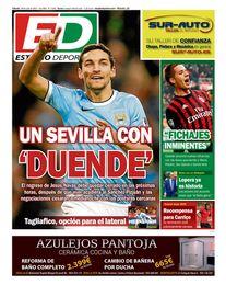 La portada del sábado de ESTADIO Deportivo