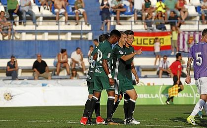 Brasanac hizo el gol y fue de los más destacados.