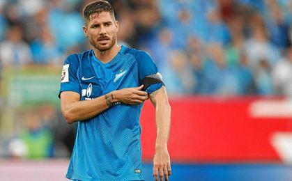 El Zenit no da facilidades para la salida de Javi García.