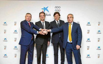 Caixabank renueva su compromiso con ADO hasta Tokio 2020
