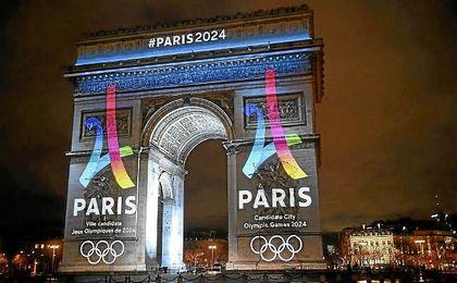 Imagen del Arco del Triunfo de París.