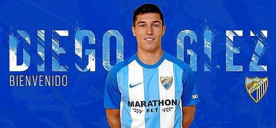 Así ha dado la bienvenida el Málaga a Diego González.
