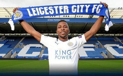 Iheanacho, nuevo jugador del Leicester City.