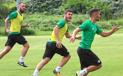 El Betis cierra tercer día en Alemania a la espera de medirse al Eintracht