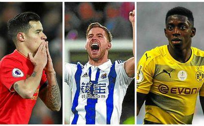 El Barcelona cambiará a Neymar por Íñigo, Coutinho y Dembélé