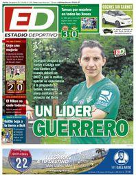 La portada del domingo de ESTADIO Deportivo