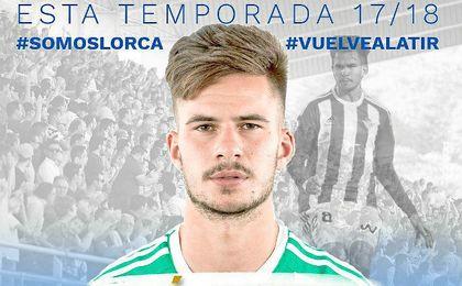 Oficial: José Carlos, cedido al Lorca