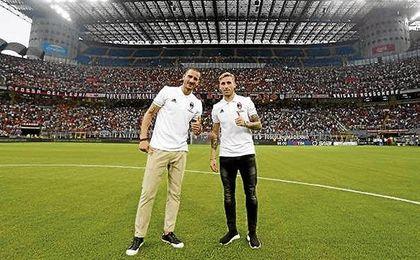Bonucci y Biglia, dos de los grandes fichajes ´rossoneri´, se estrenarán hoy ante el Betis.