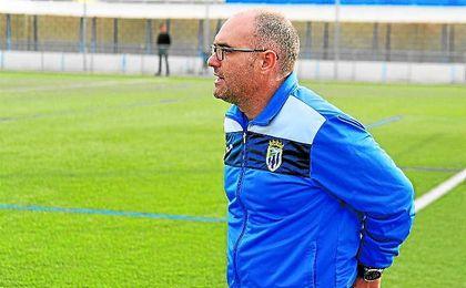 En la imagen, Francis García, nuevo entrenador del Bellavista, el año pasado en el segundo equipo.