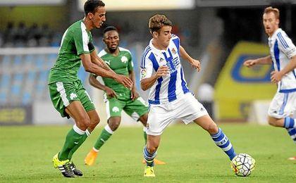 David Concha jugará cedido en el filial blaugrana.
