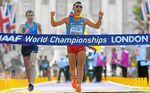 El colombiano Arévalo sucede a Miguel Ángel López como campeón de 20 km marcha