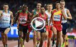 Mechaal se queda a 18 centésimas del bronce en 1500 metros