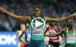 Semenya sigue imbatible en el 800