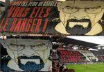 El espectacular tifo del Rennes a lo ´Breaking Bad´ ante el Lyon