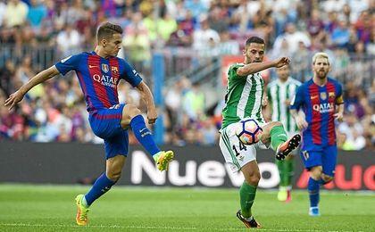 Imagen del Barcelona-Betis de la pasada temporada.