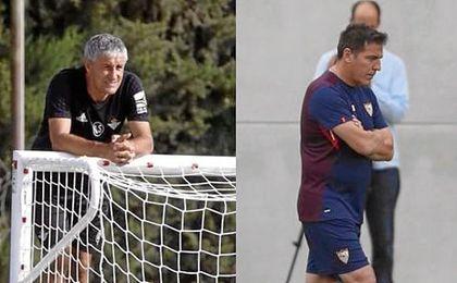Los técnicos de Betis y Sevilla han dado su apoyo.