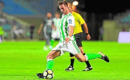 Fabián ha marcado dos goles en pretemporada.