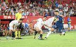 Sevilla 1-1 Espanyol: Desde que estuvo Banega y hasta que Banega quiso