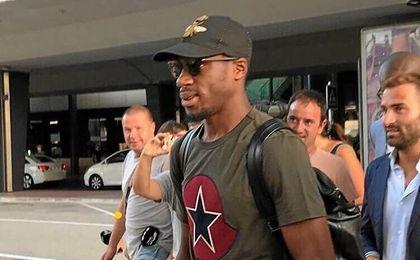 El ex del Sevilla ya está en Valencia.